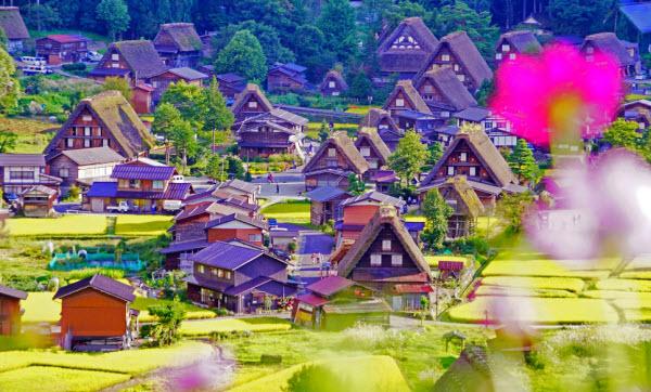 Ngẩn ngơ trước ngôi làng cổ tích Shirakawa-go đẹp tựa tranh vẽ ở Nhật Bản
