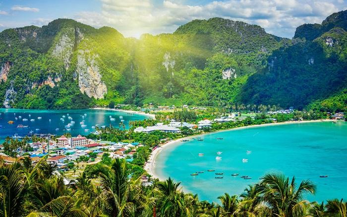 Chuốc say tâm hồn bằng vẻ đẹp của Đảo Phi Phi - Thái Lan