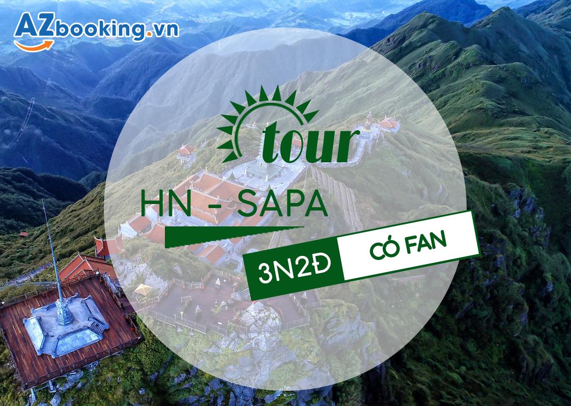TOUR SAPA – CÁT CÁT – THÁC THỦY ĐIỆN – HÀM RỒNG - FANSIPAN 3N2Đ