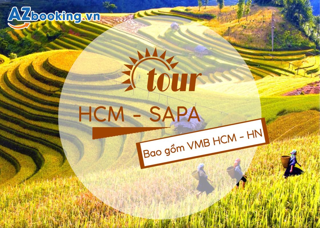 TOUR GHÉP: SG - HN - SAPA 5N4Đ