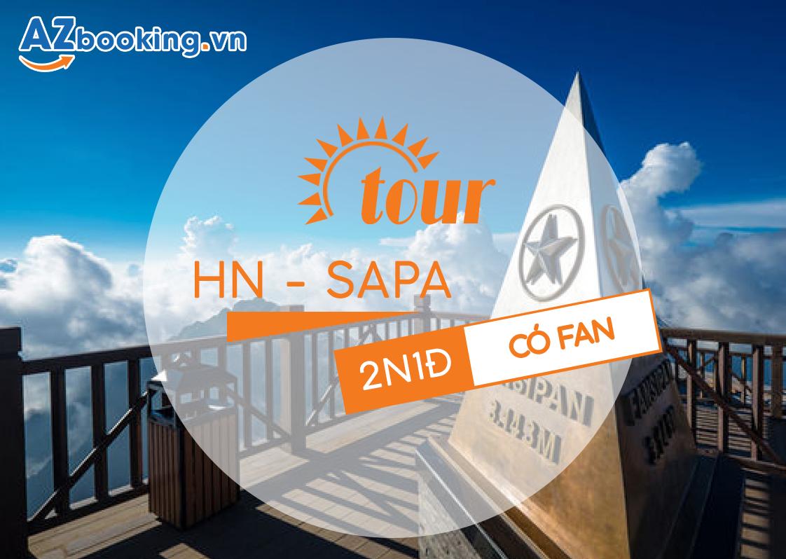 TOUR TRỌN GÓI SAPA /CATCAT/HÀM RỒNG, FANSIPAN